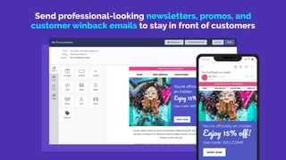 Send Newsletters & Discounts to Engaged Shoppers