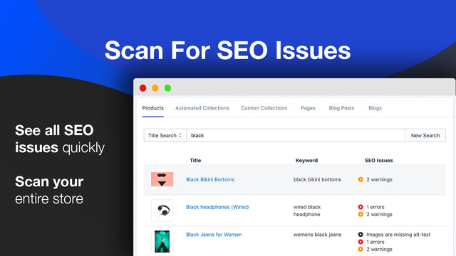 SEO structured data app instantly inserts json-ld into your site