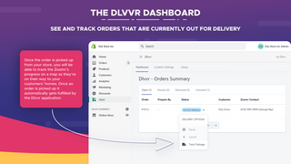 The Dlvvr Dashboard - Orders on the way