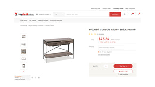 Example product page on MyDeal.com.au