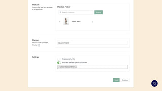 checkout upsell offer edit page