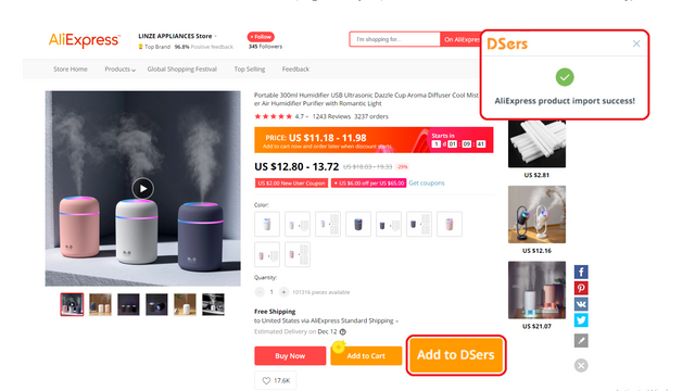 Find and import products easily!