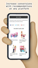 Product recommendations for a toy store on mobile