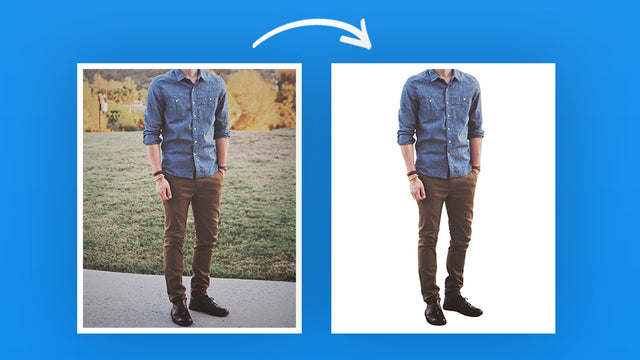Replace background easily. In 1 click.