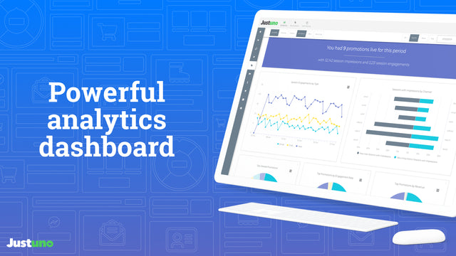 Use our powerful analytics dashboard to understand your visitors