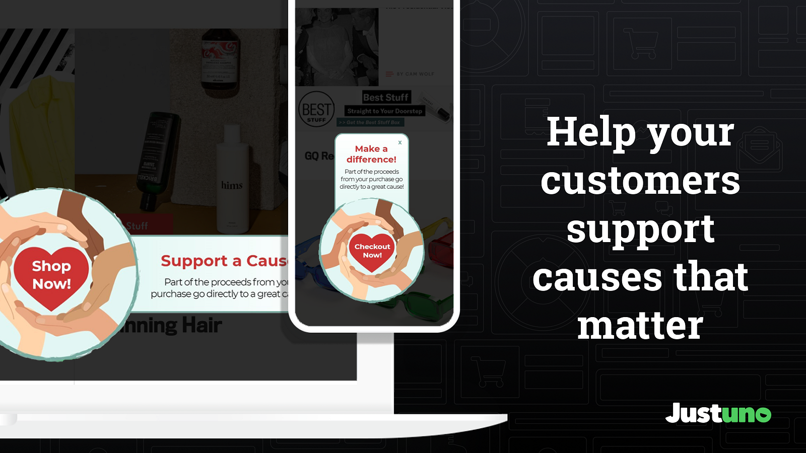Increase leads with a pop-up, banner, gamified promo, and more
