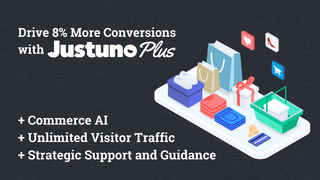 Try out Justuno Plus for AI product recommendations and more