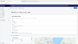 Maps by Develic, admin zone customizations