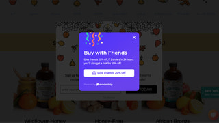 """Explainer for how """"Buy with Friends"""" works"""