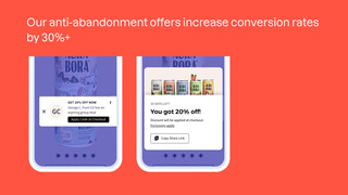 Anti-Abandonment Offers converts more traffic into buyers