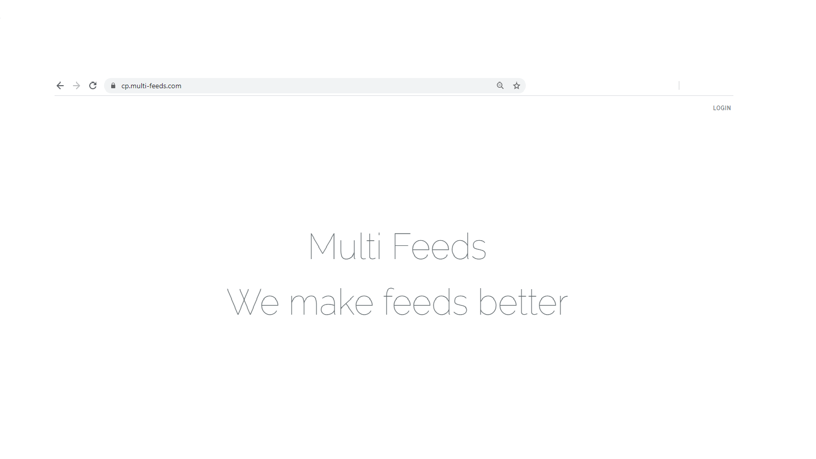 Link your Store Data to the Multi Feeds Platform