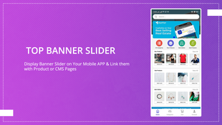 Enable Banner Slider on the Top for Mobile App