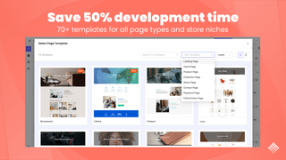 shopify landing page templates