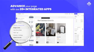 optimize page by using pagefly integrated apps