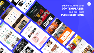 shopify pagefly prebuilt templates and page sections