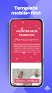 shopify mobile page templates