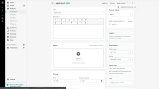 Add a new Delist Automation rule from the product details view