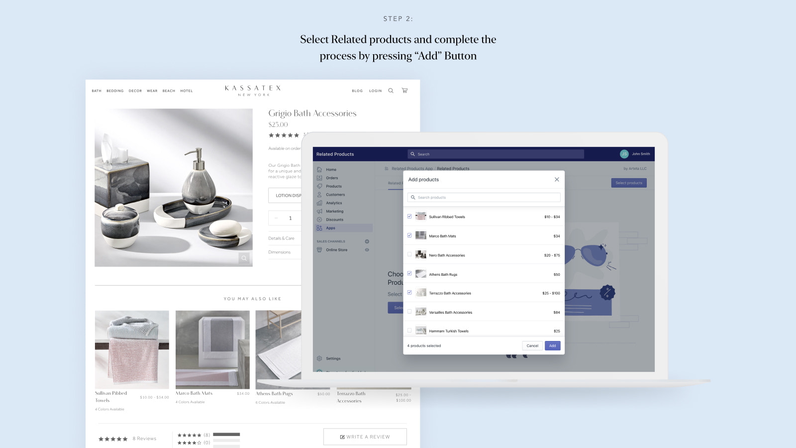 Customize your related product section