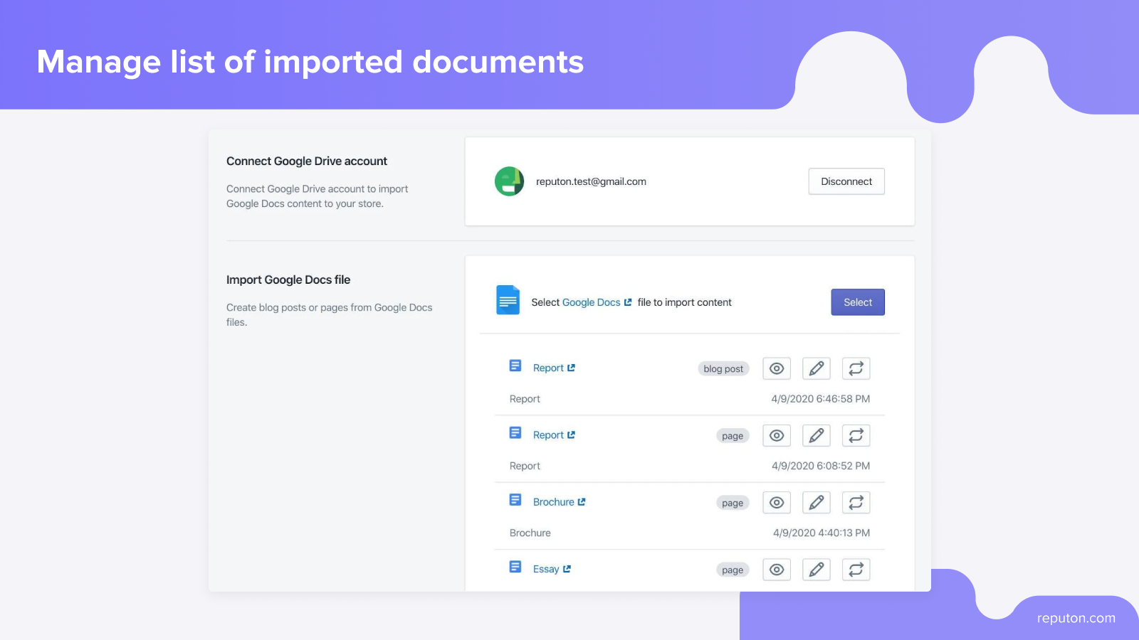 blog post in Shopify editor