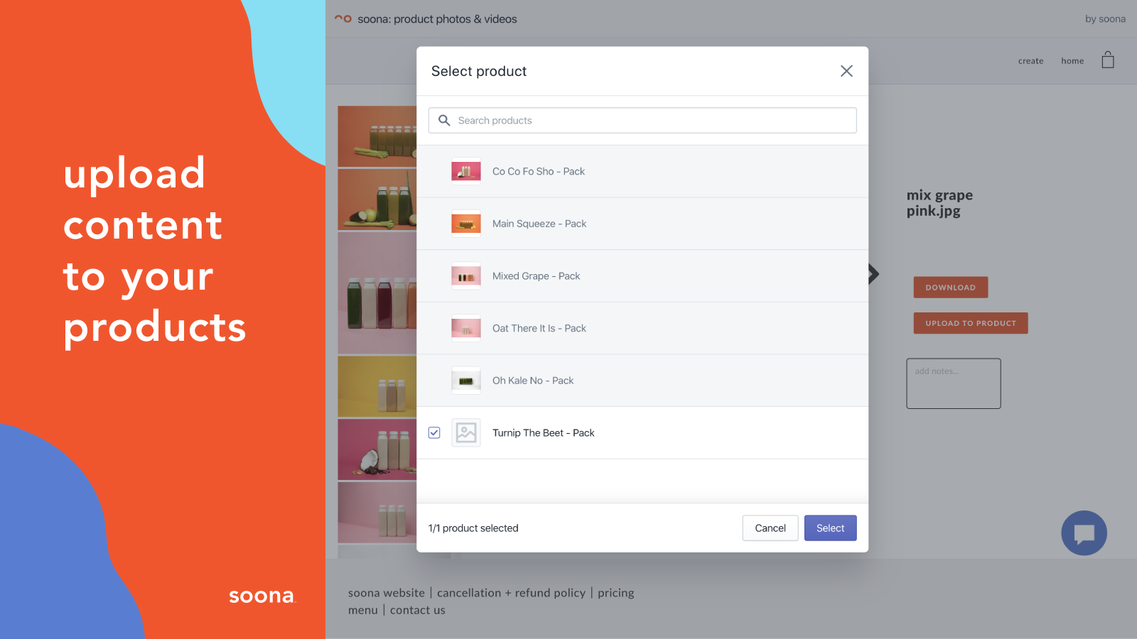 upload photos and videos to your products