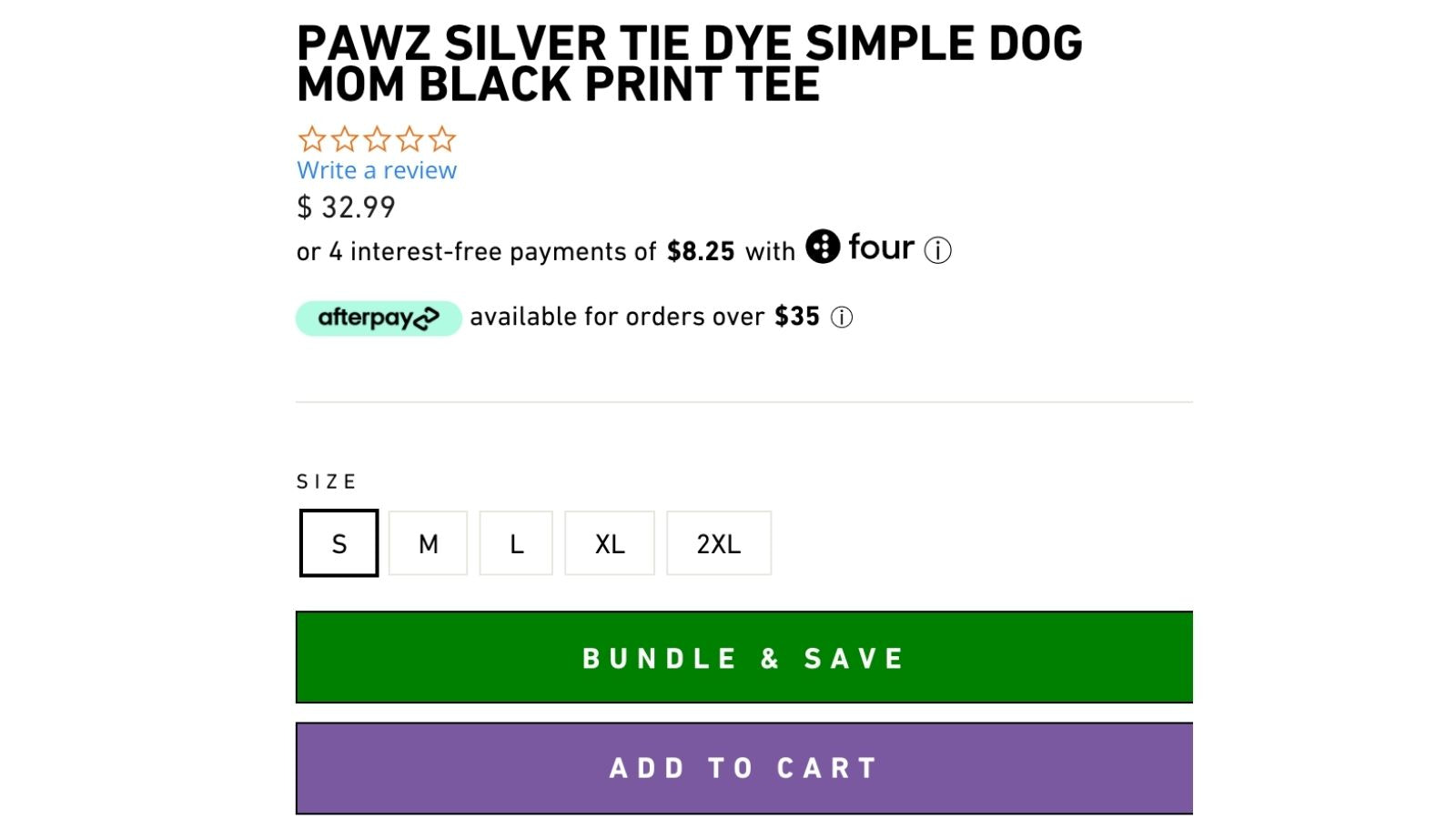 """Step 1: Click the """"Bundle and Save"""" Button"""