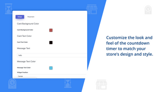 Change the look and feel of countdown timer for your store
