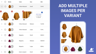 Add Multiple Images Per Variant