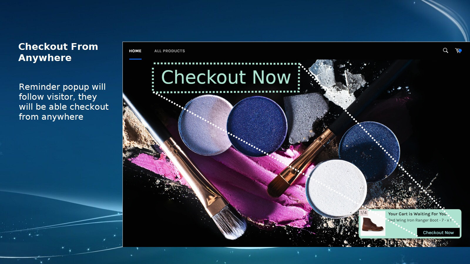 Instant checkout