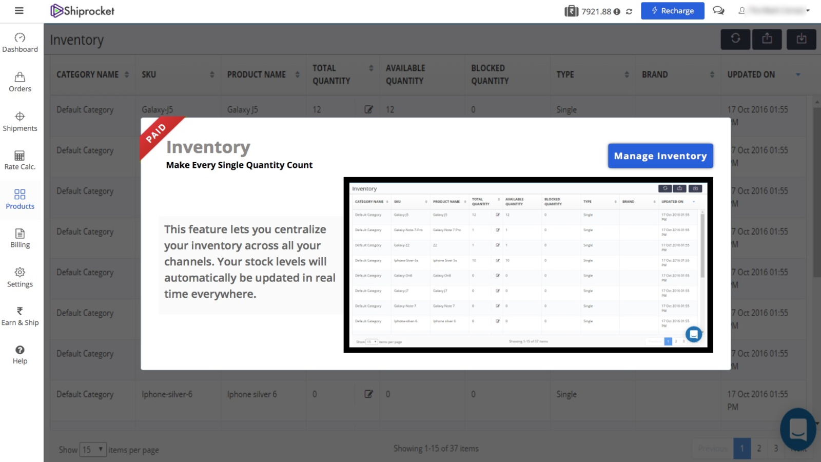Inventory and Catalog Management