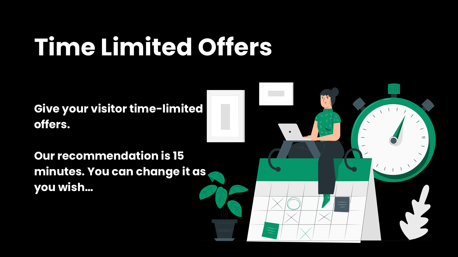 Time limited discount codes for Shopify