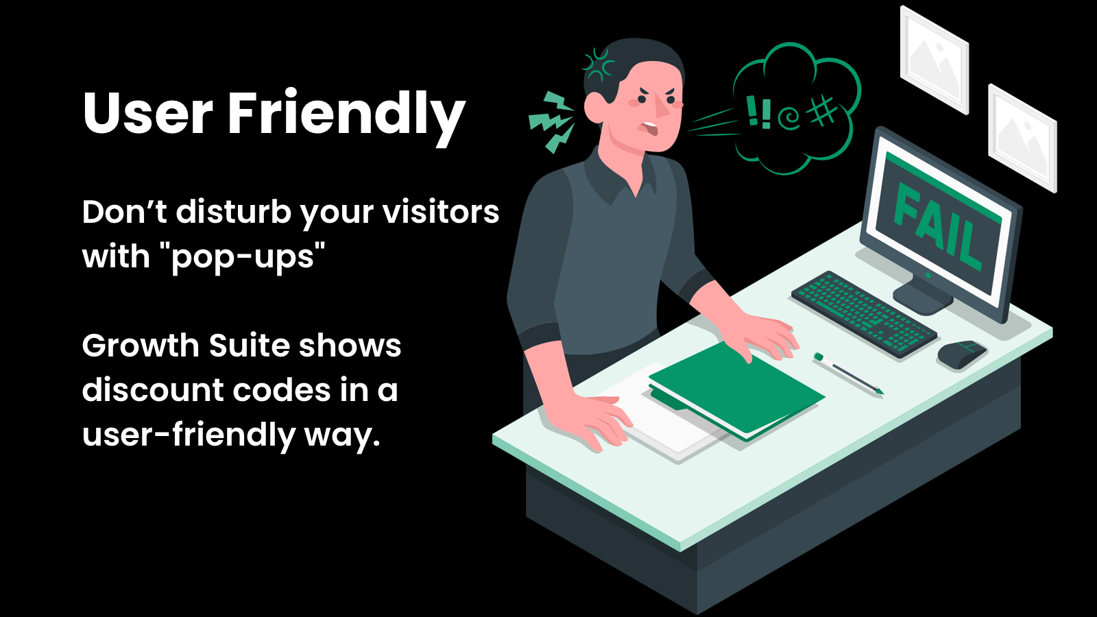 User friendly discount popups for Shopify
