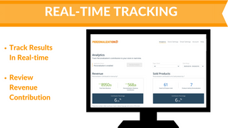 Real-time Performance Tracking - Recommended Products Shopify