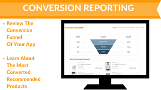 Detailed Conversion Reporting - Personalized Recommendations