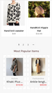 Related Products Shopify: Mobile personalized recommendations