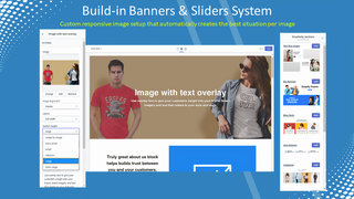 Build-in Banners & Sliders System