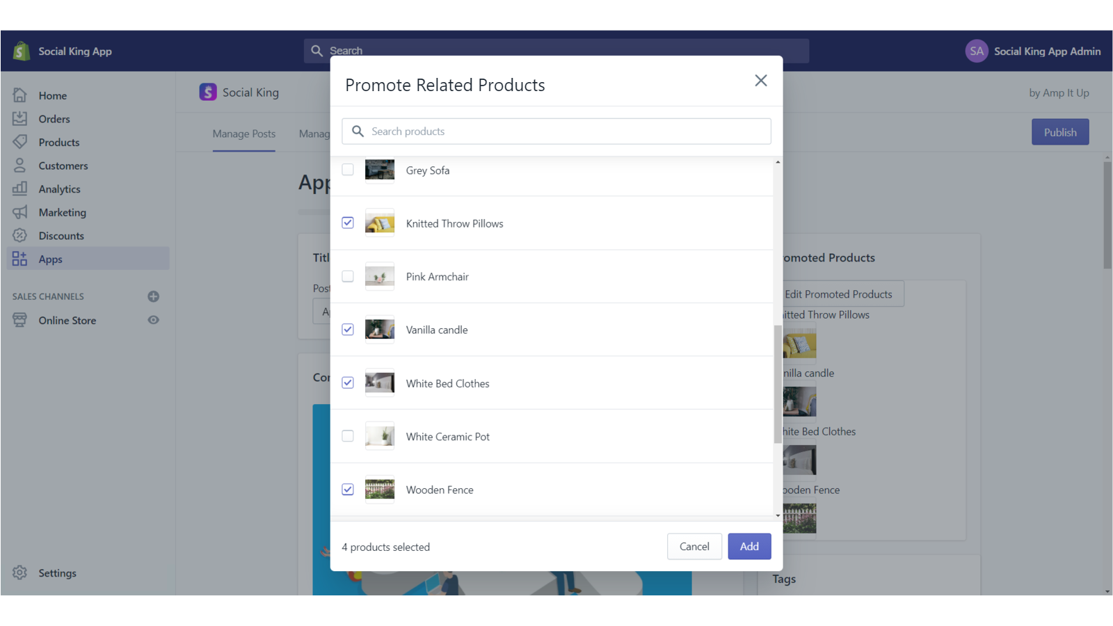 Provide shoppers with a newsfeed of new posts and comments
