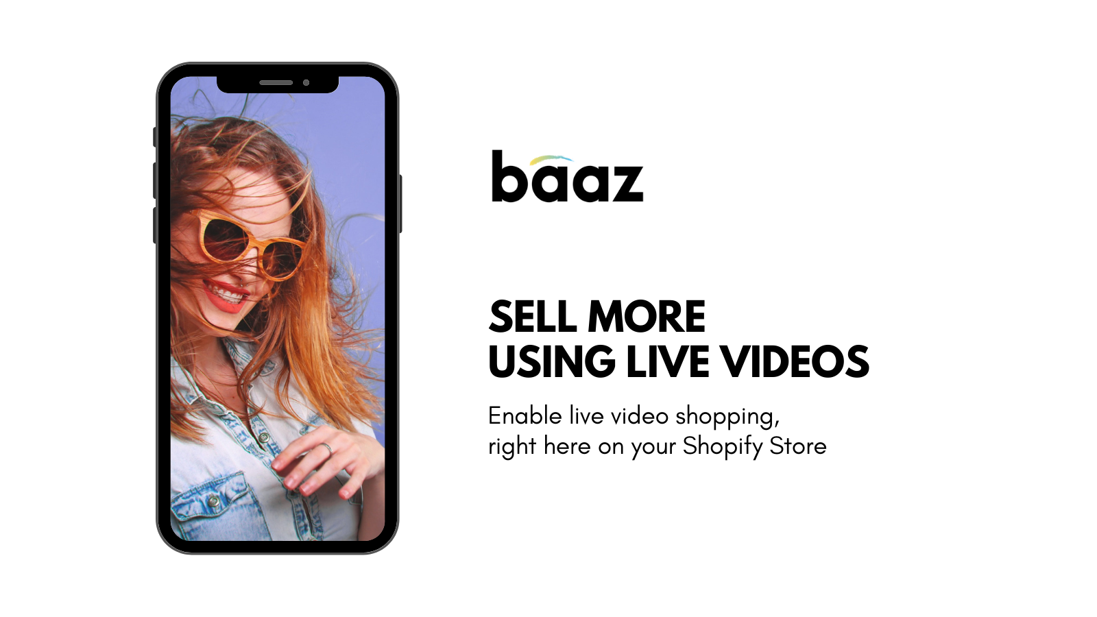 Enable live video shopping to your storefront