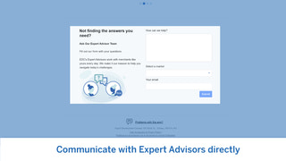 Talk with Expert Advisors directly