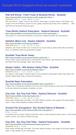 Example Rich Snippets for an actual customer, sizzlefish.com