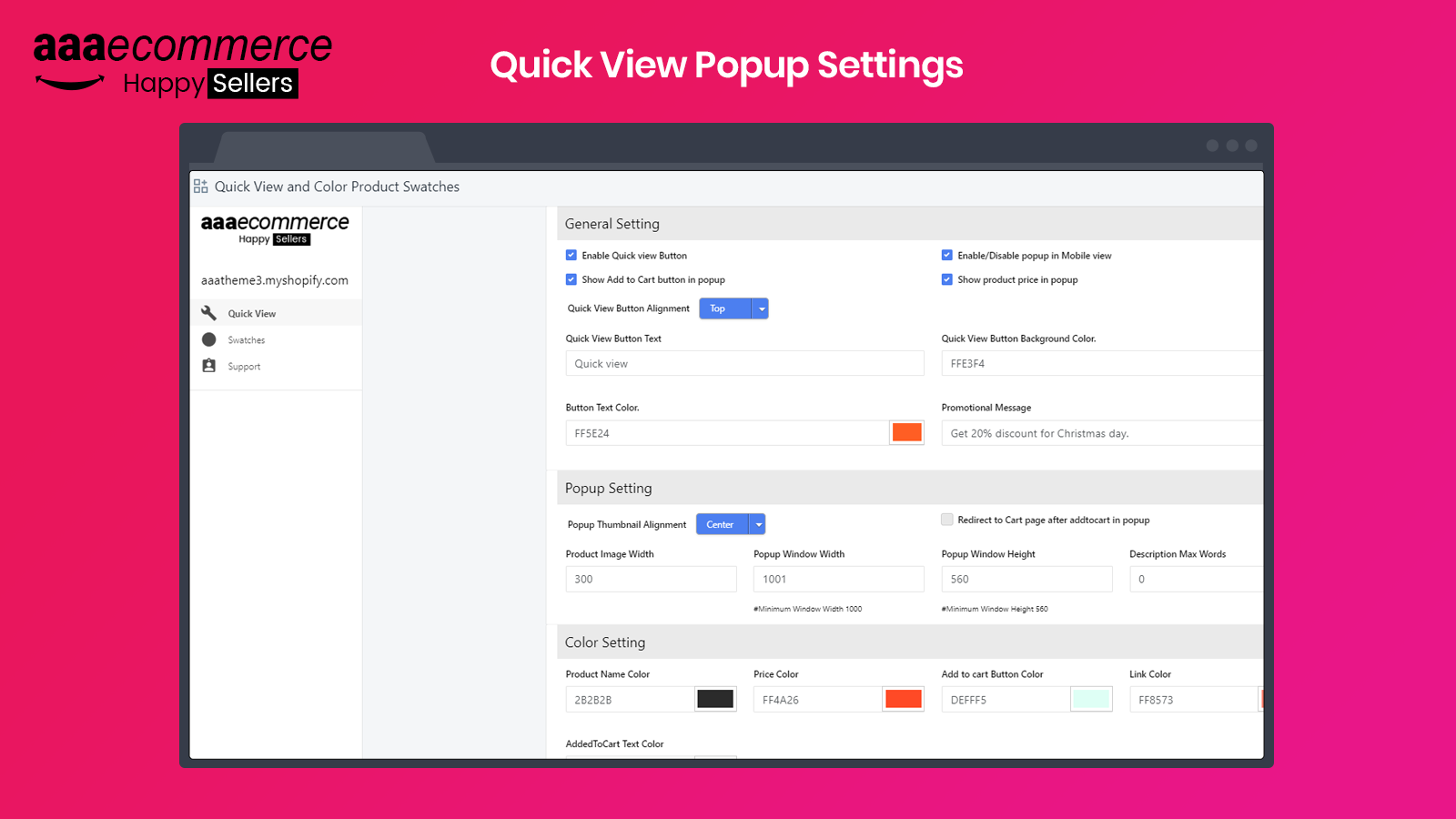 Quick View App Shopify