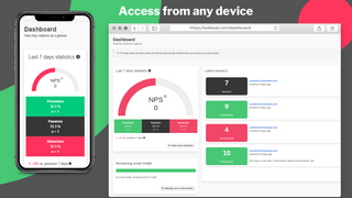 Access dashboard from any device