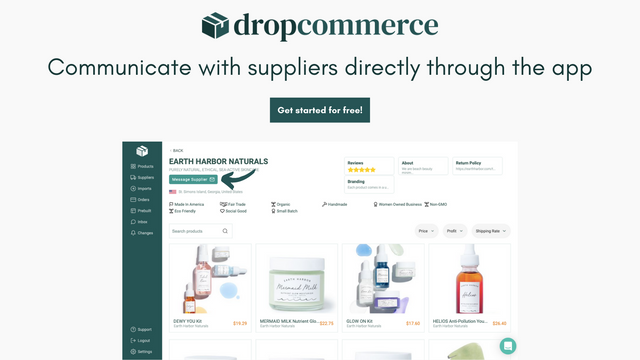 Direct Contact With Suppliers