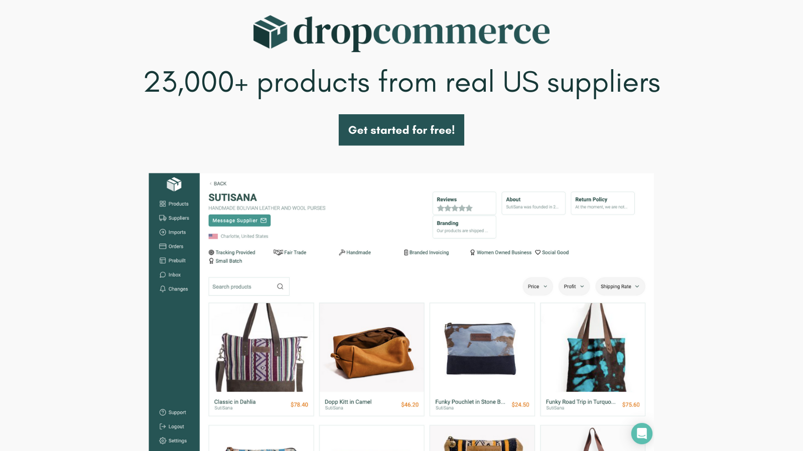 Real US & Canadian Suppliers