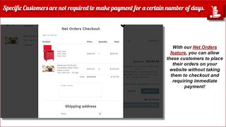 Wholesale Pricing Now Net Feature