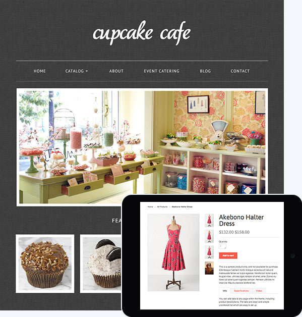 One-of-a-kind professionally designed themes