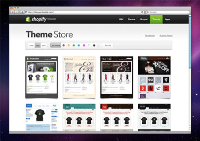 Ecommerce Website Templates at the Theme Store