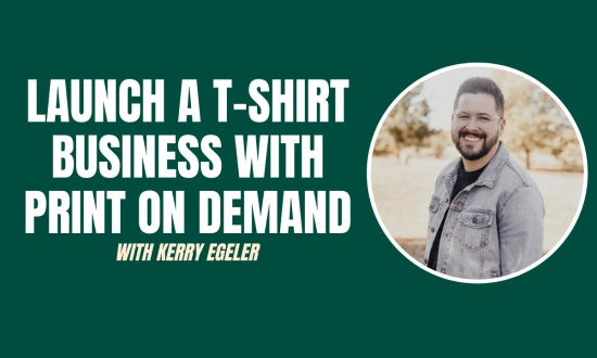 Video preview about How To Launch An Online T-Shirt Business With Print On Demand.