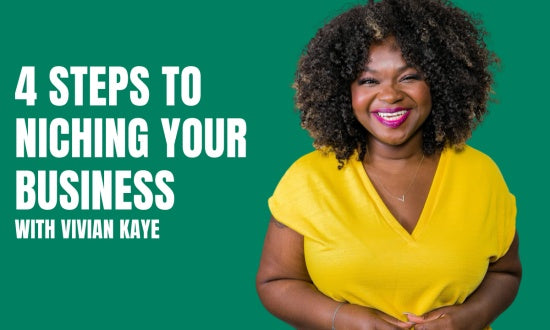 Video preview about Niche It! 4 Steps to Niching Your Business.