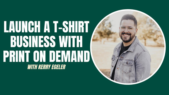 Course about How To Launch An Online T-Shirt Business With Print On Demand
