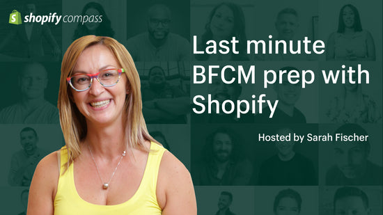 Thumbnail preview about Last minute BFCM prep with Shopify